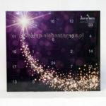 Kalendarz adwentowy fioletowy